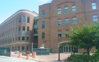 surveying and site design services for William and Mary College