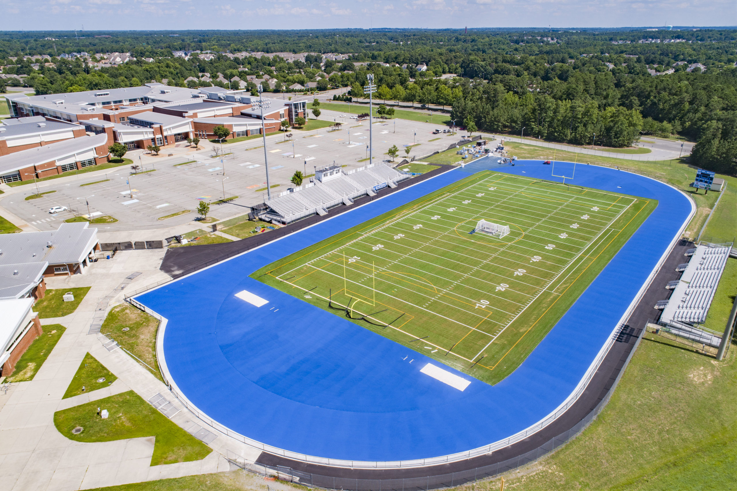 Deep Run High School Turf Field